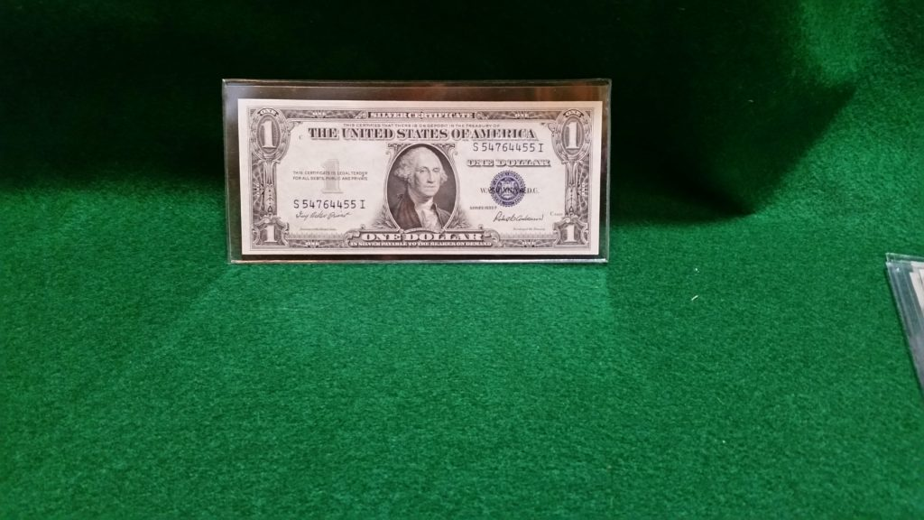 1935 F Silver Certificate Dollar Unccirculated Berry Bee Jewelry
